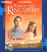 #1: Fame, Abridged Audiobook on CD (Value Priced Edition)  -     Narrated By: Sandra Burr     By: Karen Kingsbury