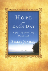 Hope for Each Day: Words of Wisdom and Faith - Slightly Imperfect  -     By: Billy Graham