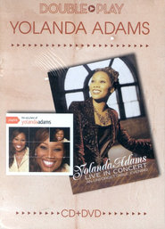 Double Play: The Very Best of Yolanda Adams/Live In Concert, CD/DVD  -     By: Yolanda Adams