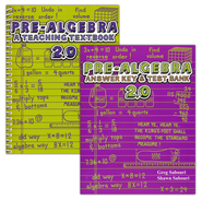 Teaching Textbooks Pre-Algebra Text & Answer Key, Version 2.0  -