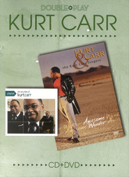 Double Play: The Very Best of Kurt Carr/Awesome Wonder, CD/DVD   -     By: Kurt Carr