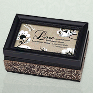 Love Always Protects Music Box  -