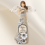 A Mother's Love is Treasured Angel Figurine  -