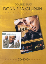 Double Play: The Very Best of Donnie McClurkin/Live in London  and More, CD/DVD  -     By: Donnie McClurkin