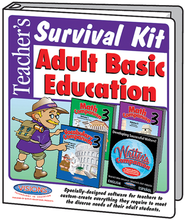 Teacher's Survival Kit Adult Basic Education Visions  Bundle  -              By: Arnie Uretsky