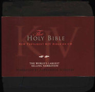 KJV New Testament                                       - Audiobook on CD             -     Narrated By: Alexander Scourby