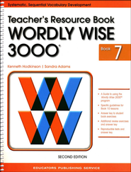 Wordly Wise 3000 Teacher Resource Book 7, 2nd Edition   -