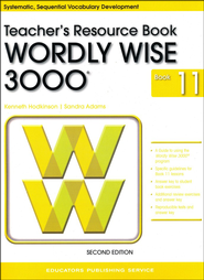 Wordly Wise 3000 Teacher Resource Book 11, 2nd Edition   -