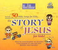 CEV Story Of Jesus For Kids                  - Audiobook on CD  -     By: Multiple voices
