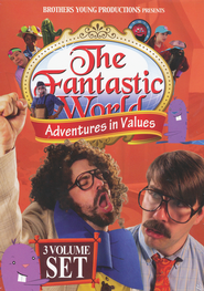 The Fantastic World: Adventures in Values, 3-DVD Set   -