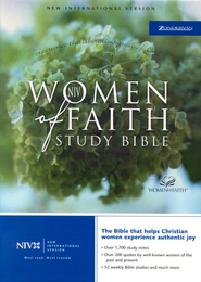 NIV Women of Faith Study Bible, Bonded leather, Purple  1984  -