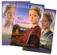Lizzie Searches for Love Series, Vols 1-3   -     By: Linda Byler