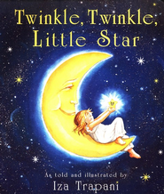 Twinkle, Twinkle, Little Star Board Book   -     By: Iza Trapani