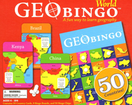 GeoBingo World Game   -
