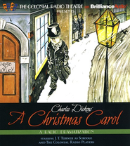 A Christmas Carol: A Dramatization Based on the Dicken's Classic on CD  -     Narrated By: J.T. Turner & The Colonial Radio Players     Edited By: Jerry Robbins     By: Charles Dickens