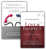 Love & Respect/Cracking the Communication Code, 2  Volumes with DVD  -              By: Emerson Eggerichs
