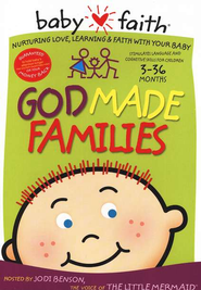 God Made Families, A Babyfaith DVD   -