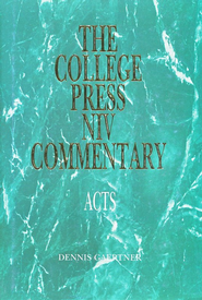 Acts: The College Press NIV Commentary   -     By: Dennis Gaertner