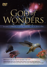 God of Wonders, Multi-Language DVD   -