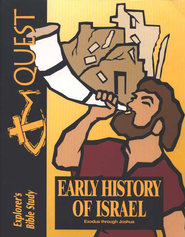 Bible Quest: Early History of Israel (Exodus-Joshua), Student Workbook  -