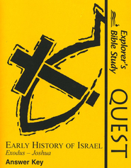 Bible Quest: Early History of Israel, Answer Key   -