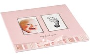 My First Year Calendar Pink  -