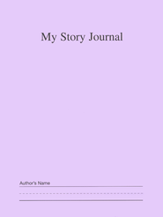 My Story Journal Purple Grades K-1   -