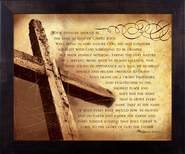 Be Like Christ, Philippians 2, Framed Print  -              By: Julie Chen
