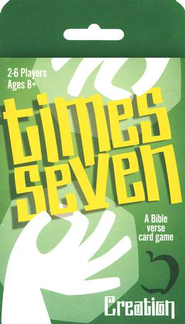 Times Seven: Creation, A Bible Verse Card Game   -