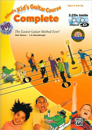 Kid's Guitar Course Complete: The Easiest Guitar Method Ever!  -     By: Ron Manus, L.C. Harnsberger