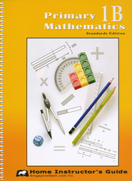 Primary Mathematics Home Instructor's Guide 1B (Standards Edition)  -