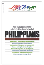 Philippians, LifeChange Bible Study Series  -