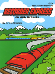 Recorder Express: CD and Folder  -     By: Artie Almeida