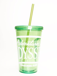 Adventures in Odyssey® Straw Cup, Lime Green 16 oz. -