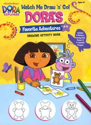 Dora's Favorite Adventures Drawing Activity Book   -