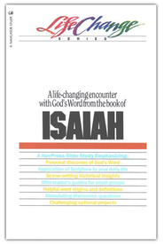 Isaiah, LifeChange Bible Study Series  -