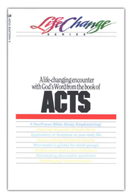 Acts, LifeChange Bible Study Series  -