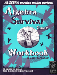 Algebra Survival Guide Workbook: Thousands of Problems to Sharpen  Skills and Enhance Understanding  -     By: Josh Rappaport