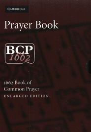 1662 Book of Common Prayer (BCP), Large Print Edition- Goatskin leather, brown  -