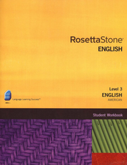 Rosetta Stone American English, Level 3, Version 3 Workbook   -