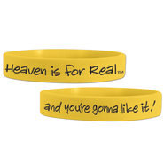Heaven is For Real Rubber Wristband   -