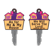 As for Me and My House Key Cover  -