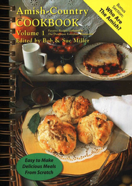 Amish-Country Cookbook: Volume 1 (Spiral Edition)  -     By: Bob Miller