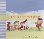 Baby's First Five Years: A Baby Record Book  -