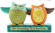 Owls, Our Friendship is a Blessing, Philippians 1:3  -