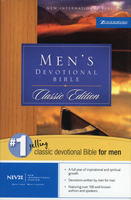 NIV Classic Men's Devotional Bible Hardcover 1984  -