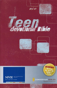 NIV Teen Devotional Bible, Hardcover  1984  -