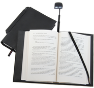 Periscope(R) Bookcover with Light, Paperback, Black   -