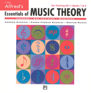 Essentials of Music Theory, Ear Training CD 1 (for Books 1 & 2)   -     By: Andrew Surmani