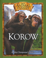 Korow: A Baby Chimpanzee's Story--Book and DVD   -     By: Kathleen Duey